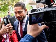 Aufatmen bei Paolo Guerrero: Perus Captain darf nun doch zur WM (Bild: KEYSTONE/JEAN-CHRISTOPHE BOTT)