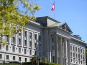 Das Bundesgericht musste sich nochmals über ein eigenes Urteil zu Uno-Sanktionen beugen. (Bild: KEYSTONE/LAURENT GILLIERON)