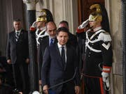Italiens designierter Regierungschef Giuseppe Conte (Bild: KEYSTONE/EPA ANSA/ALESSANDRO DI MEO)