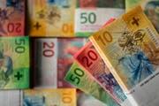 10er-, 20er- und 50er-Note der Neunten Banknotenserie der Schweizerischen Nationalbank. (Bild: Keystone)