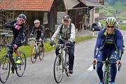 Vom 4. bis 6. Juni können keine Radfahrer über die Passhöhe Hulftegg fahren. (Symbolbild: PD)