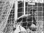Unvergessen: Eusebio schiesst gegen Nordkorea vier Tore (Bild: KEYSTONE/AP, A BOLA/NUNO FERRARI)