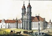 Der Dom als Kupferstich von Johann Conrad Mayr um 1790/95. (Bild: Stadtarchiv)