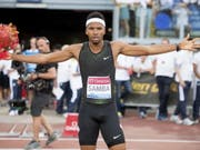 Abderrahman Samba wirft sich in Jubelpose (Bild: KEYSTONE/EPA ANSA/CLAUDIO PERI)