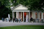 Der Frauenpavillon im St.Galler Stadtpark. (Bild: Michel Canonica)