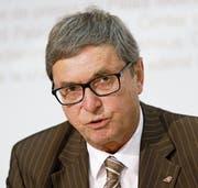 Bruno Gehrig leitet die Ermittlungen bei der Raiffeisen. (Bild: Peter Klaunzer/Keystone (Bern, 24. August 2015))