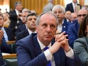 Muharrem Ince ist der Präsidentschaftskandidat der türkischen Oppositionspartei CHP. (Bild: KEYSTONE/AP Pool CHP Press Service/ZIYA KOSEOGLU)