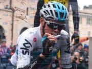 Chris Froome hat sich erstmals seit 2010 wieder für den Giro d'Italia eingeschrieben (Bild: KEYSTONE/EPA ANSA/DARIO BELINGHERI)