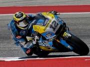 Tom Lüthi auf der MotoGP-Honda des belgischen Teams Marc VDS (Bild: KEYSTONE/EPA/PAUL BUCK)