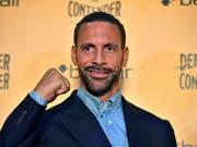 In Grossbritannien erhält der frühere Top-Verteidiger Rio Ferdinand keine Boxlizenz (Bild: KEYSTONE/AP PA/DOMINIC LIPINSKI)