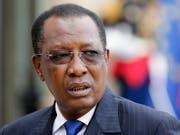 Die neue Verfassung im Tschad schafft das Amt des Regierungschefs ab und stärkt die Machtposition von Präsident Idriss Débys. (Bild: KEYSTONE/EPA/ETIENNE LAURENT)