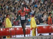 Asbel Kiprop ist als Doping-Betrüger entlarvt (Bild: KEYSTONE/AP/DAVID J. PHILLIP)