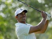 Tiger Woods ist nach wie vor etwas skeptisch (Bild: KEYSTONE/AP/CHUCK BURTON)