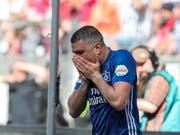 Dem Hamburger SV droht nach 55 Jahren in der Bundesliga der erstmalige Abstieg (Bild: KEYSTONE/EPA/ARMANDO BABANI)