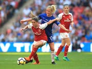 Chelsea setzte sich im englischen Cupfinal gegen Stadtrivale Arsenal durch (Bild: KEYSTONE/AP PA/ADAM DAVY)