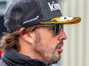 Fernando Alonso feierte er ein erfolgreiches Debüt in der Langstrecken-WM (Bild: KEYSTONE/EPA/SRDJAN SUKI)