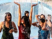 Neue Höchstwerte für diese Jahreszeit: In Pakistan wurden Ende April Temperaturen bis zu 50 Grad gemessen. (Symbolbild) (Bild: KEYSTONE/EPA/SANJEEV GUPTA)