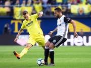 Valencia kehrt in der nächsten Saison wieder in die Champions League zurück (Bild: KEYSTONE/EPA EFE/DOMENECH CASTELLO)