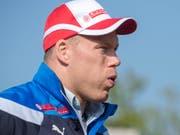 Matthias Sempach wird schon früh in der Saison wieder geplagt (Bild: KEYSTONE/MARCEL BIERI)