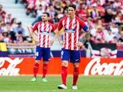 Nach dem Erfolg in der Europa League folgte für Atlético Madrid in der Meisterschaft die Ernüchterung (Bild: KEYSTONE/EPA EFE/RODRIGO JIMENEZ)