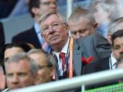 Sir Alex Ferguson gewann als Trainer von Manchester United 38 Trophäen (Bild: KEYSTONE/AP/MARTIN MEISSNER)