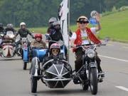 Für viele Menschen mit Behinderung war die 60 Kilometer lange Töfftour ein Höhepunkt der Love Ride.