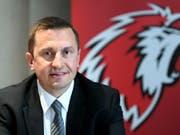 Der neue Lausanne-Trainer Ville Peltonen startet zu einem neuen Zyklus (Bild: KEYSTONE/LAURENT GILLIERON)