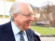 Das Bezirksgericht Bülach verurteilt Dolder-Besitzer und Kunstsammler Urs E. Schwarzenbach zu einer Busse von 4 Millionen Franken. Der 69-Jährige will das Urteil weiterziehen. (Bild: KEYSTONE/WALTER BIERI)