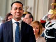 M5S-Chef Luigi Di Maio will nur mit der Lega eine Regierung bilden. Sonst soll es zu Neuwahlen kommen. (Bild: KEYSTONE/AP ANSA/ETTORE FERRARI)