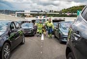 Damit Rettungskräfte an die Unfallstelle gelangen können, brauchen sie Platz. (Bild: Bild: PD)