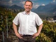 Der Waliiser Weinhändler Dominique Giroud muss wegen der Hackeraffäre vor Genfer Polizeigericht. (Bild: Keystone/OLIVIER MAIRE)