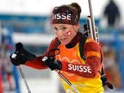 Legt nach ihren dritten Olympischen Spielen erneut eine Babypause ein: Selina Gasparin (Bild: KEYSTONE/EPA/ANTONIO BAT)