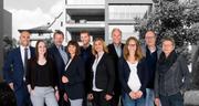 Das Team der STAUB Immobilien Treuhand AG (von links): Carlo Staub, Selina Frei, Hermann Zillig, Cornelia Wehrli, René Hasler, Ana Perolini, Richard Ehrat, Céline Schmid, Charles Staub und Doris Handschin.