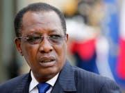 Regiert den Tschad seit 1991 mit harter Hand: Präsident Idriss Déby. (Bild: Keystone/EPA/ETIENNE LAURENT)
