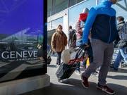 Die Swiss will ihre Position am Genfer Flughafen festigen und fasst einen Ausbau ins Auge. (Bild: KEYSTONE/SALVATORE DI NOLFI)