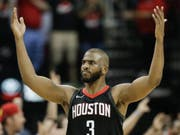 Ein überragender Chris Paul führte die Houston Rockets in den NBA-Playoffs ins Halbfinal (Bild: KEYSTONE/FR171023 AP/ERIC CHRISTIAN SMITH)