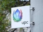 Der Kabelnetzbetreiber UPC hat im ersten Quartal 1,4 Prozent Umsatz eingebüsst. Als Erfolg wertet UPC hingegen den Start des Sportsenders MySports. (Bild: KEYSTONE/MANUEL LOPEZ)