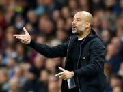 Pep Guardiola bricht mit Manchester City weiter Rekorde (Bild: KEYSTONE/AP PA/MARTIN RICKETT)