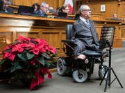 CVP-Nationalrat Christian Lohr (TG) hatte Massnahmen gefordert, damit Menschen mit Behinderungen möglichst selbstbestimmt am gesellschaftlichen Leben teilnehmen können. Der Bundesrat umreisst nun in einem Bericht seine Behindertenpolitik. (Bild: KEYSTONE/PETER SCHNEIDER)