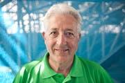 Marcel Bourquin ist OK-Präsident des «Lucerne Beach Volleyball Open». | Bild: Boris Bürgisser (Luzern, 12. Mai 2015)