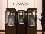 Der Chefposten bei Cartier ist der bestbezahlte in der Richemont-Gruppe: Cyrill Vigneron bezieht für das abgelaufene Geschäftsjahr ein Salär von 6 Millionen Franken. (Bild: KEYSTONE/SANDRO CAMPARDO)