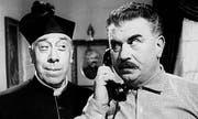 Don Camillo & Peppone, die zankenden Filmhelden aus dem Dörfchen Brescello. (Bild: pd)