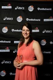 Sibylle Scherer (LK Zug) erhielt die Auszeichnung als Topskorerin.