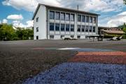 Das Schulhaus Kuonimatt in Kriens. (Bild: Philipp Schmidli/1. Juni 2018)