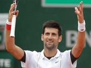 Novak Djokovic gewinnt in vier Sätzen und steht im Achtelfinal (Bild: KEYSTONE/AP/ALESSANDRA TARANTINO)