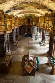 Die St.Galler Stiftsbibliothek gehört zu den touristischen Highlights der Region. (Bild: Benjamin Manser)