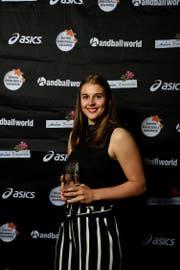 Xenia Hodel (Spono Eagles) ist erhielt die Auszeichnung als Toptalent.