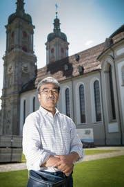 Vom Meister lernen: Kanjuro Shibata XXI hält heute und morgen in St.Gallen ein Seminar. (Bild: Ralph Ribi)