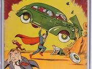 Supermans erster Auftritt im Juni 1938 im Heft Action Comics #1 (Bild: Keystone/AP/EMILY CLEMENTS)