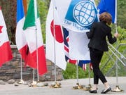 Am G7-Gipfel im kanadischen Whistler versammeln sich die Finanz- und Notenbankchefs der wichtigsten westlichen Industrienationen. (Bild: KEYSTONE/AP The Canadian Press/JONATHAN HAYWARD)